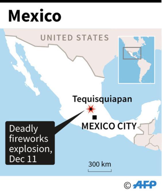 教会の祭りの行列で花火が爆発、8人死亡 約50人負傷 メキシコ