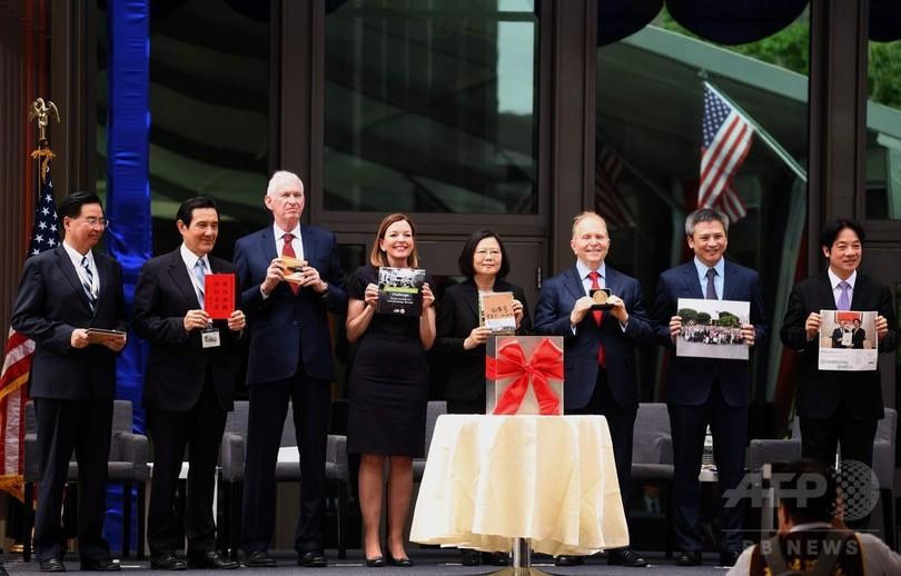 事実上の在台米大使館、新庁舎が落成 「堅固な米台関係を象徴」