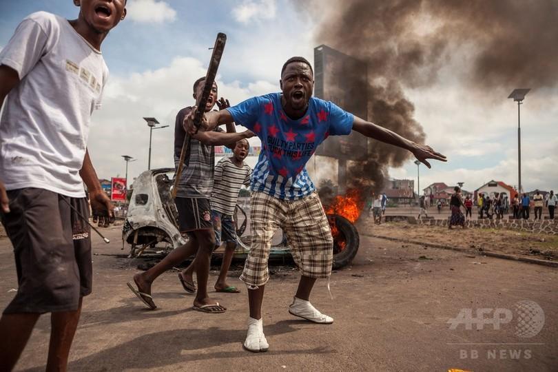 コンゴ、大統領辞任要求デモで50...