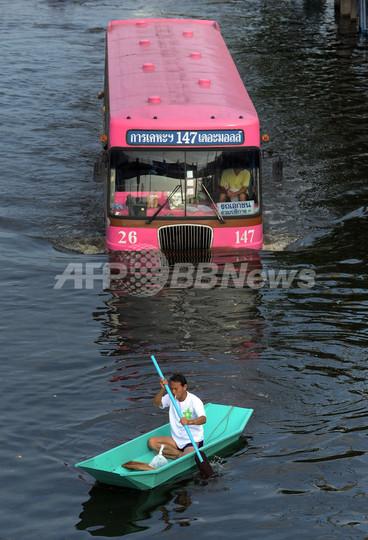 沈みゆくバンコク、洪水は不吉な未来の序章か タイ