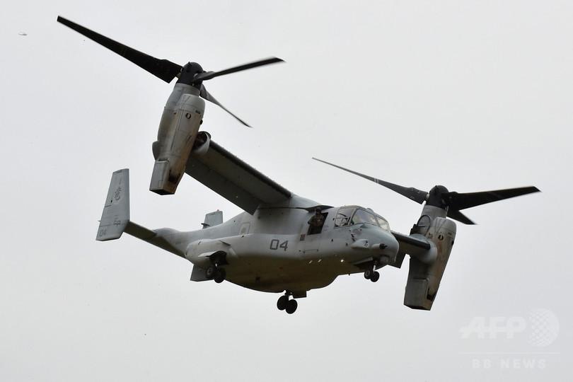 米海兵隊、沖縄のオスプレイ部隊長を解任「信頼を喪失」