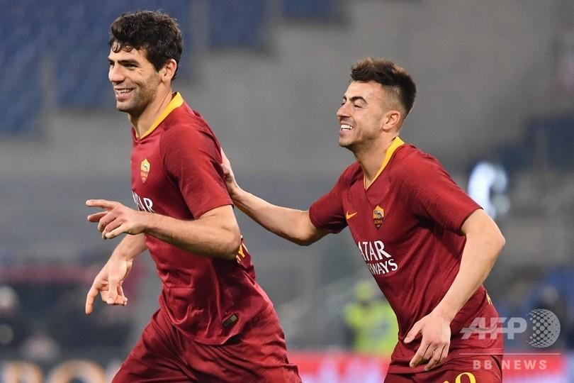 好調ローマがボローニャ下し5位浮上、7戦無敗でCL出場圏と1差