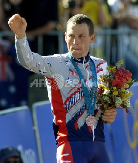 永久追放のアームストロング氏、シドニー五輪の銅メダルを返還