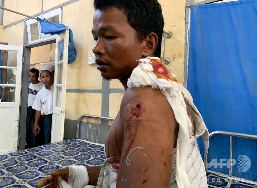 ミャンマー軍、ラカイン州の村包囲 「食料不足深刻」と住民訴え