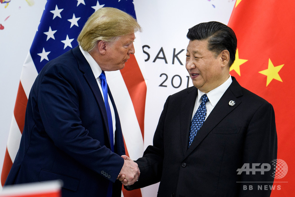 米中貿易合意、中国側は慎重 トランプ氏の「非常に近い」発言に