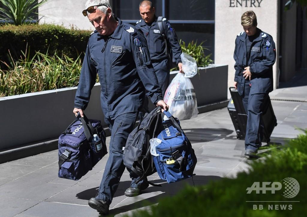 日本を含む外国公館に不審物届く オーストラリア