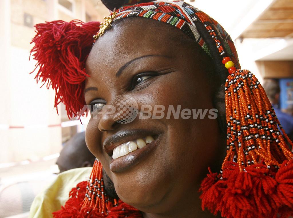 <第20回汎アフリカ映画テレビ祭>開催日の光景 - ブルキナファソ