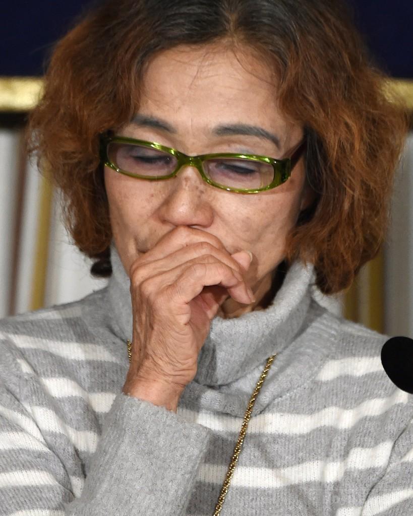 「健二はイスラム国の敵ではない」、後藤さんの母 解放訴え会見