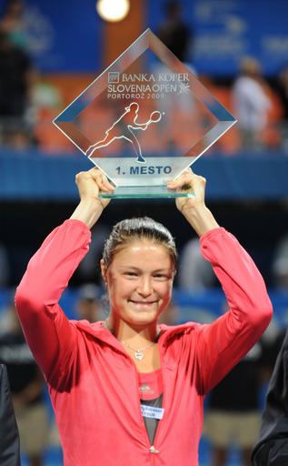サフィナ エラーニを下しシーズン3勝目、スロベニア・オープン