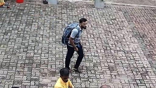 動画:スリランカ連続爆発、監視カメラに自爆犯とみられる男の姿