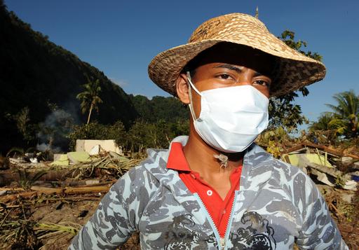 サモア諸島沖地震、死者164人に
