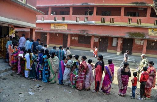 有権者9億人、インド総選挙始まる モディ首相に審判