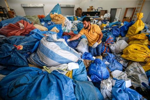 8年分の郵便物がパレスチナに イスラエルが差し止め分引き渡し