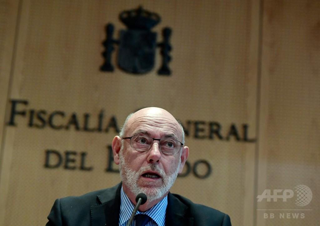 スペイン検事総長がアルゼンチンで急死、カタルーニャめぐる訴追手続き指揮