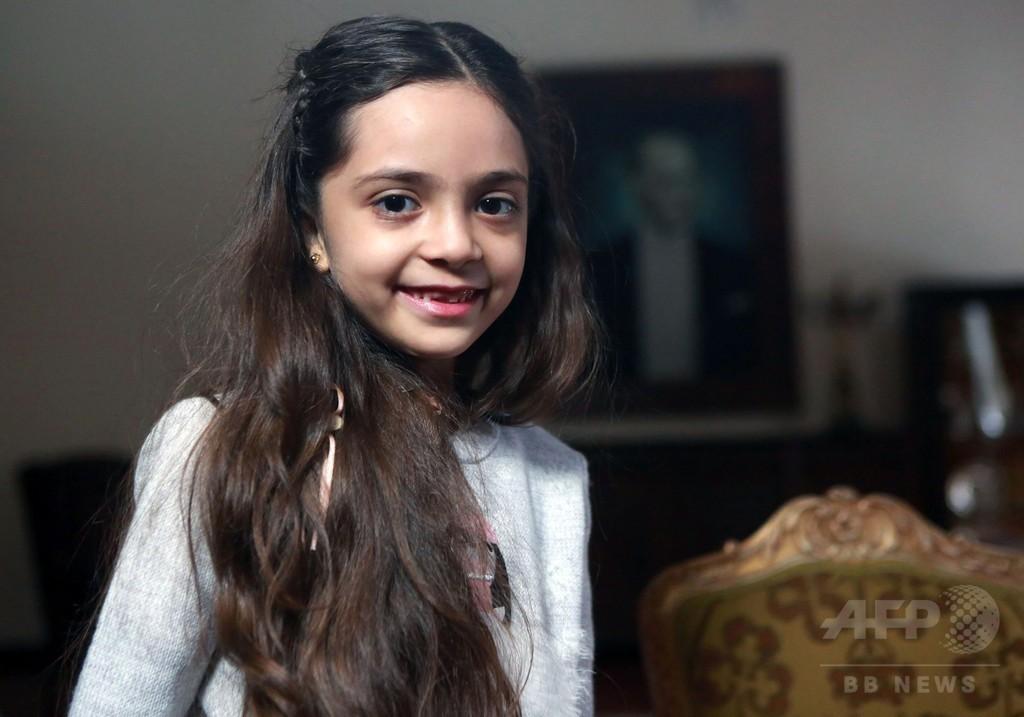 「世界はアレッポの子たちの声を聴くべき」、シリアのツイート少女が訴え