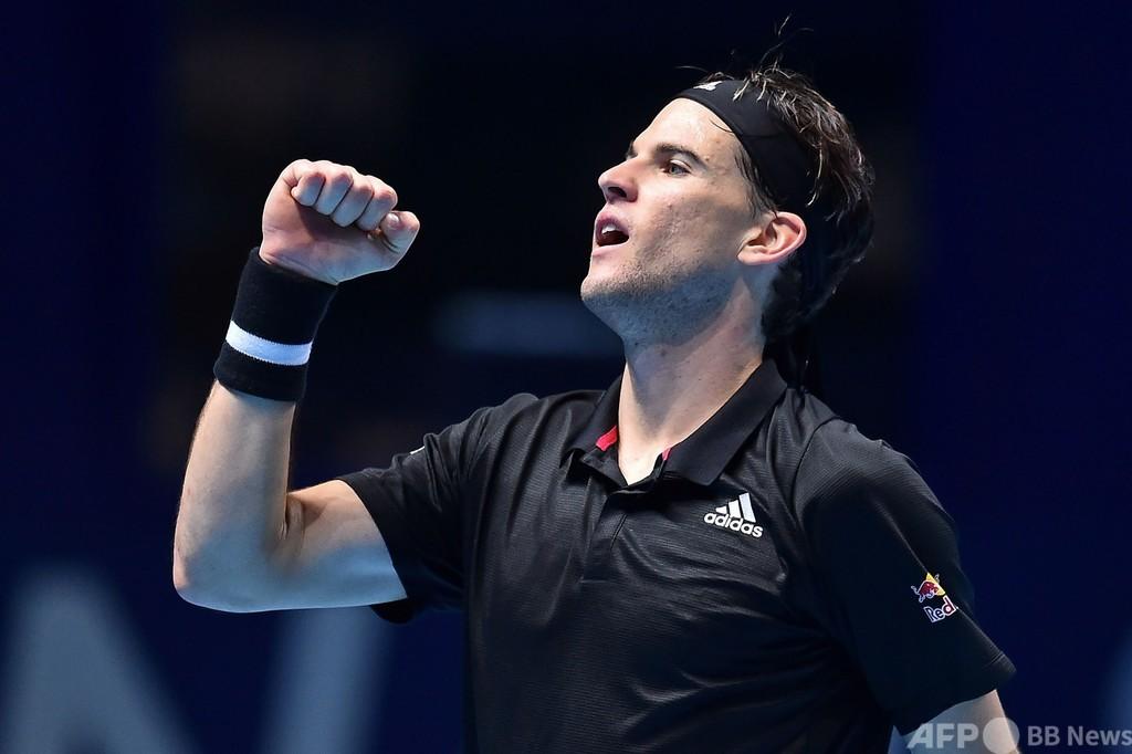 ティエムが4強一番乗り、敗れたナダルも自信深める  ATPファイナルズ