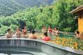 江蘇省 御水温泉「果物浴」が人気