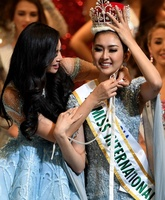 都内でミス・インターナショナル決勝大会、インドネシア代表に栄冠