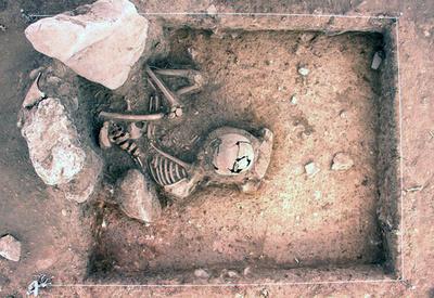 ペルー・クスコで3000年前の人骨2柱発掘、文化省が写真公開