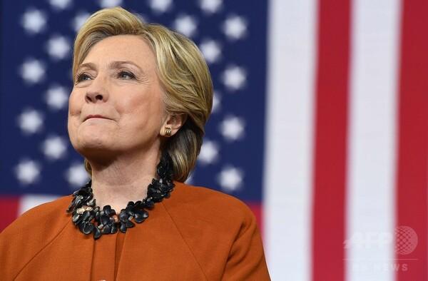 FBI、クリントン氏メール問題の調査再開 選挙戦に打撃