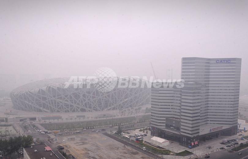 改善されない北京の大気汚染、五輪開幕までもうじき1か月