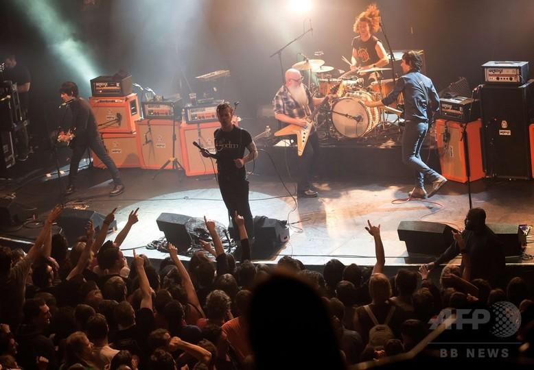 襲撃直前、コンサート会場内の写真 パリ