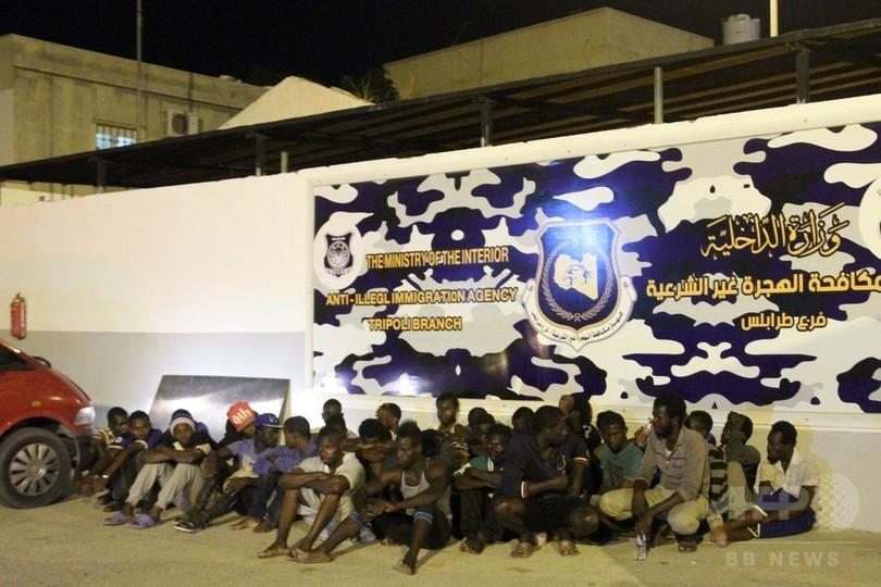 放置された保冷車内から移民7人の遺体、窒息死か リビア