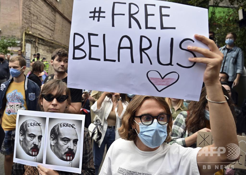 EU、対ベラルーシ制裁で一致 選挙後の反対派弾圧で