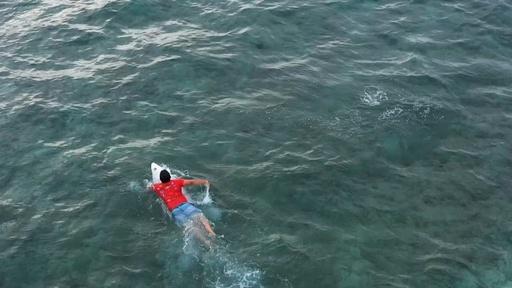 動画:津波のトラウマを克服する「希望のサーフィン」 スマトラ沖地震から15年