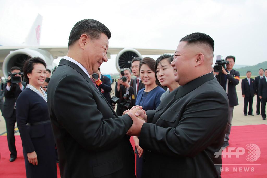 北朝鮮、習氏の訪朝に中朝関係は「揺るぎない」と称賛