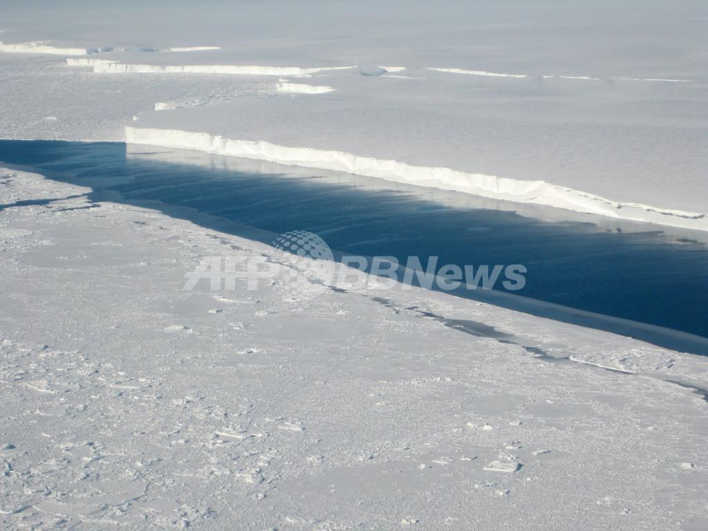 南極の棚氷消失、最大の原因は「底面融解」 研究