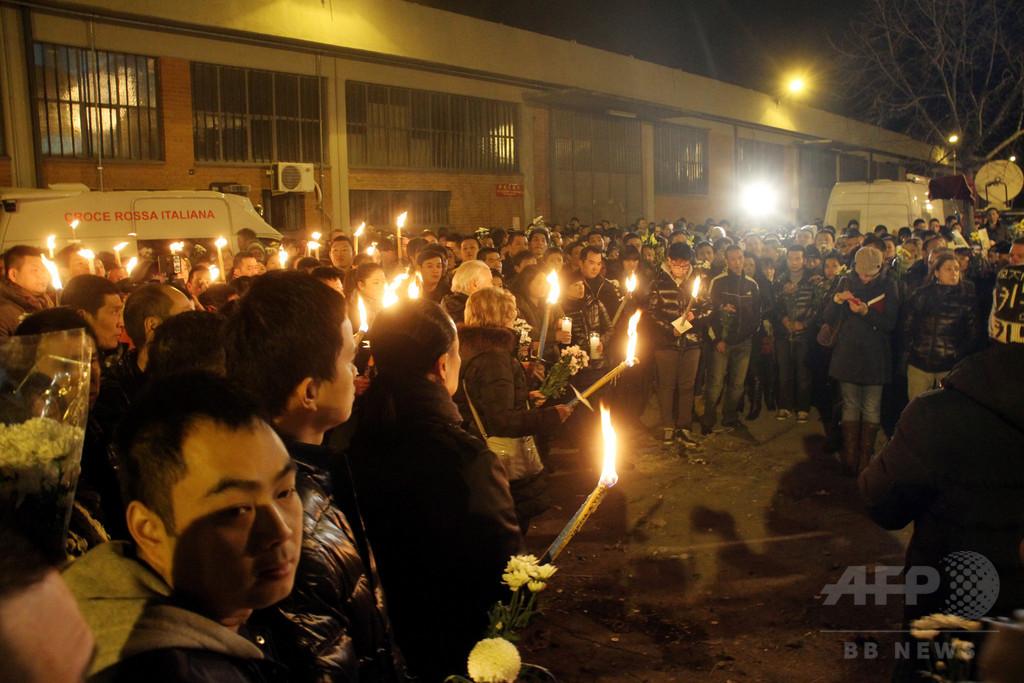 「中国マフィア」による人種差別犯罪、イタリア警察が家宅捜索