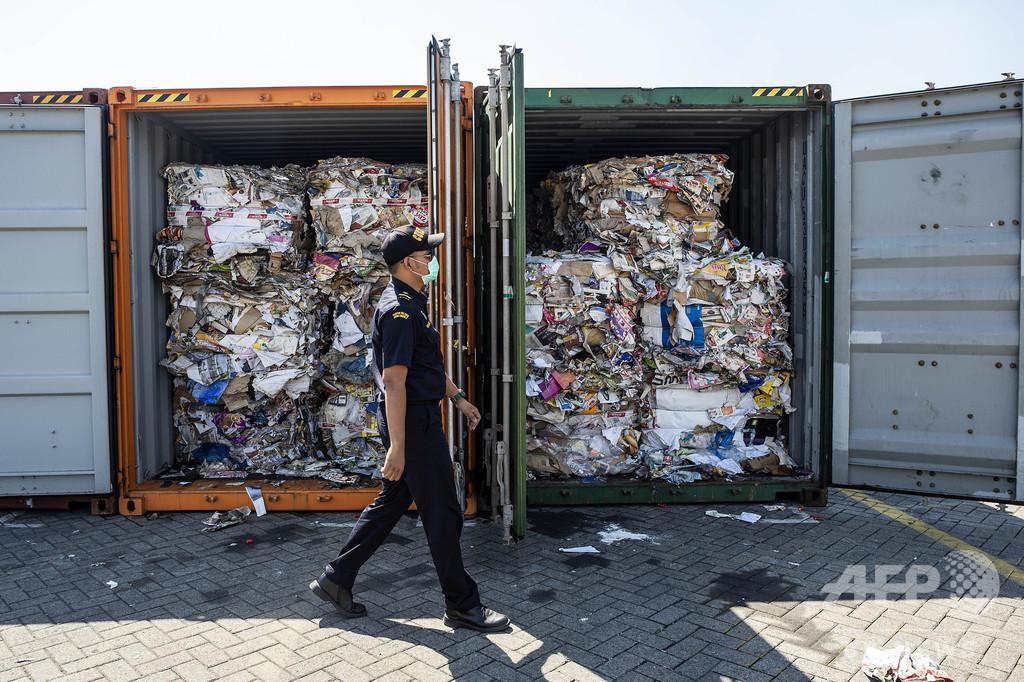 インドネシア、豪から輸出されたごみ210トンを返送へ
