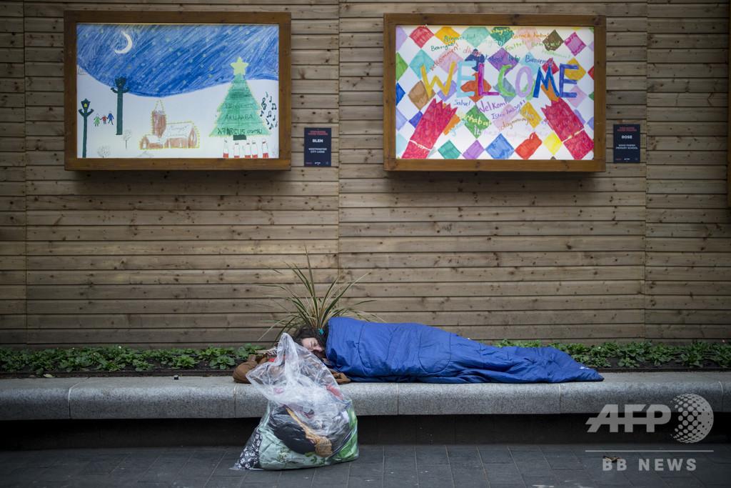 英ロンドン市長、ホームレスを国際チェーンのホテルに収容へ 新型コロナ対策