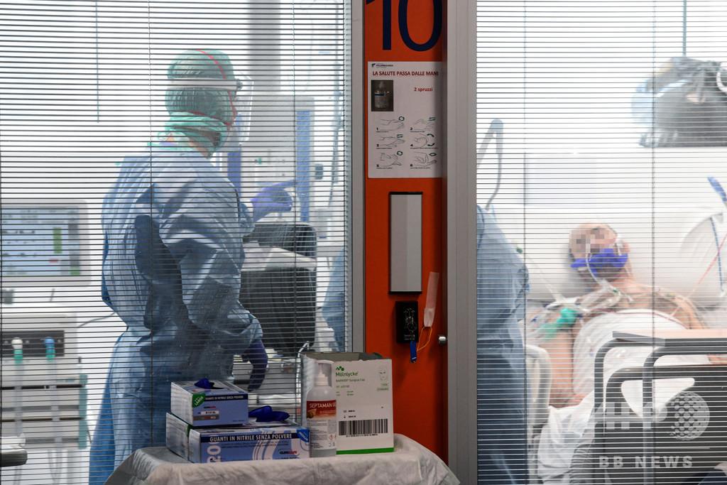 戦地のよう…医師にのしかかる患者「選別」の重圧 新型コロナ