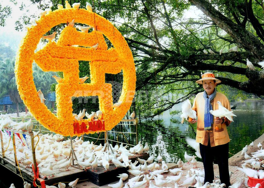 式典で放った白いハト1000羽、盗まれて食べられて… ベトナム