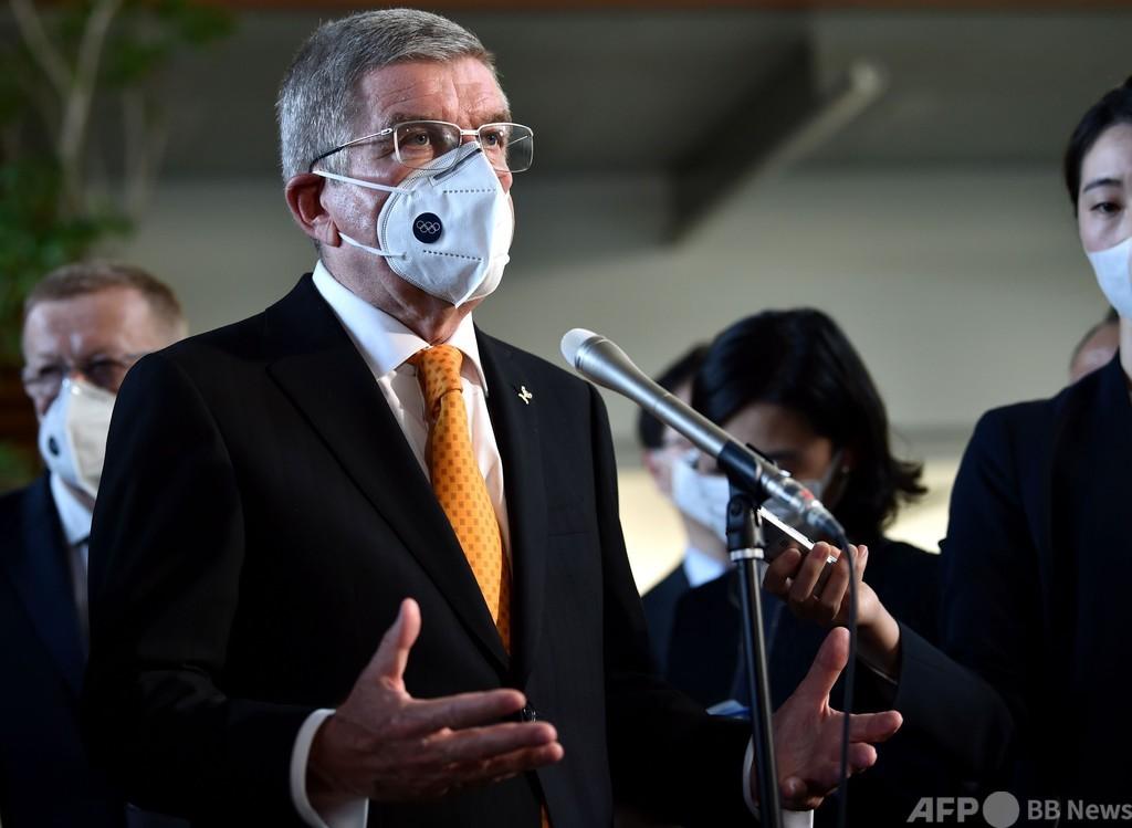 IOC会長、東京五輪の有観客開催へ「非常に自信」