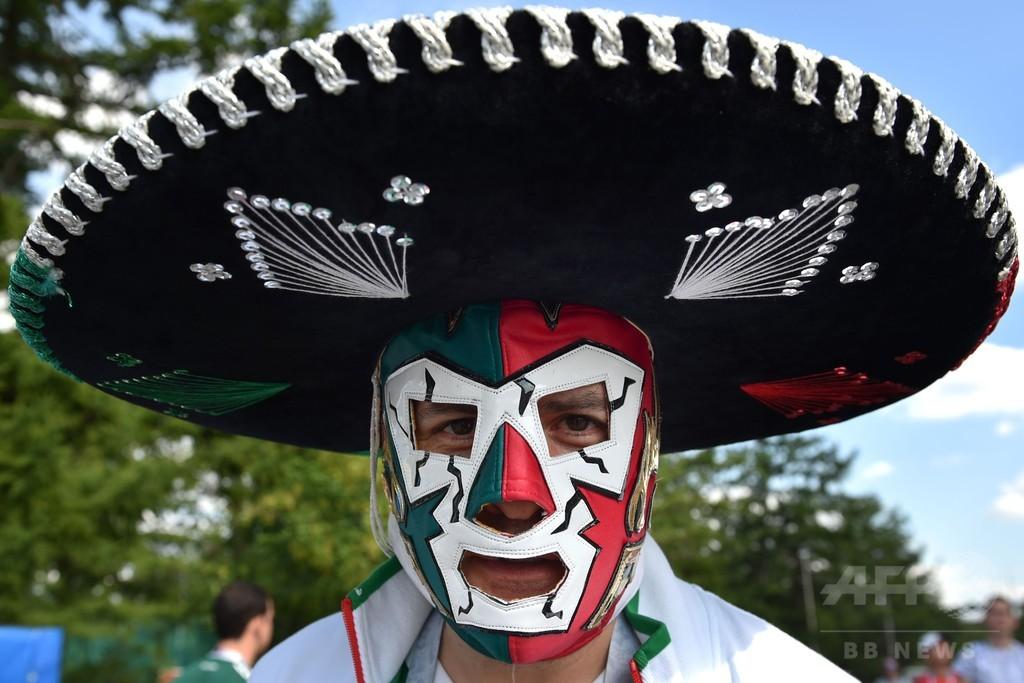 王者ドイツが初戦落とす、決勝点のメキシコFWは「最大の勝利の一つ」