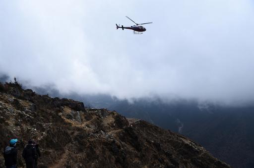 ネパールでヘリコプターが墜落、観光相ら7人死亡