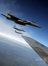 那覇沖で米軍F15戦闘機が墜落、パイロット負傷 報道