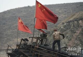 中国陝西省の炭鉱で落盤事故、21人が死亡