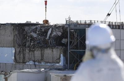 福島第1原発を報道陣に公開、まもなく震災5年