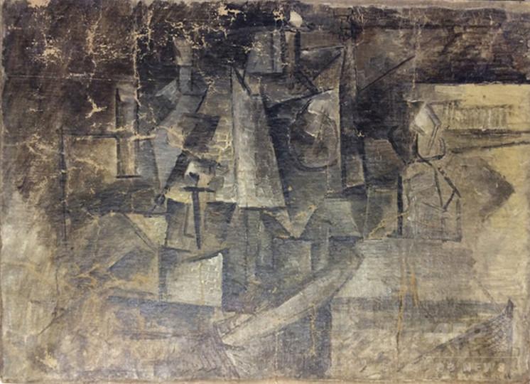 盗難のピカソ絵画発見、米税関で没収 時価数百万ドル