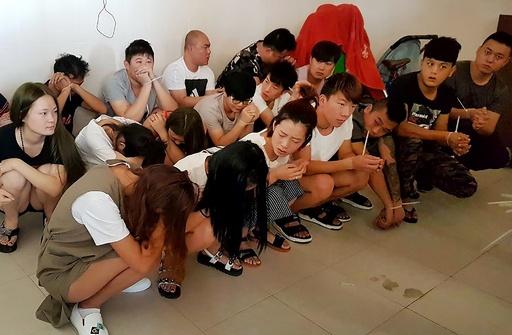 ヌード写真入手し脅迫、中国人関係者215人逮捕 カンボジア