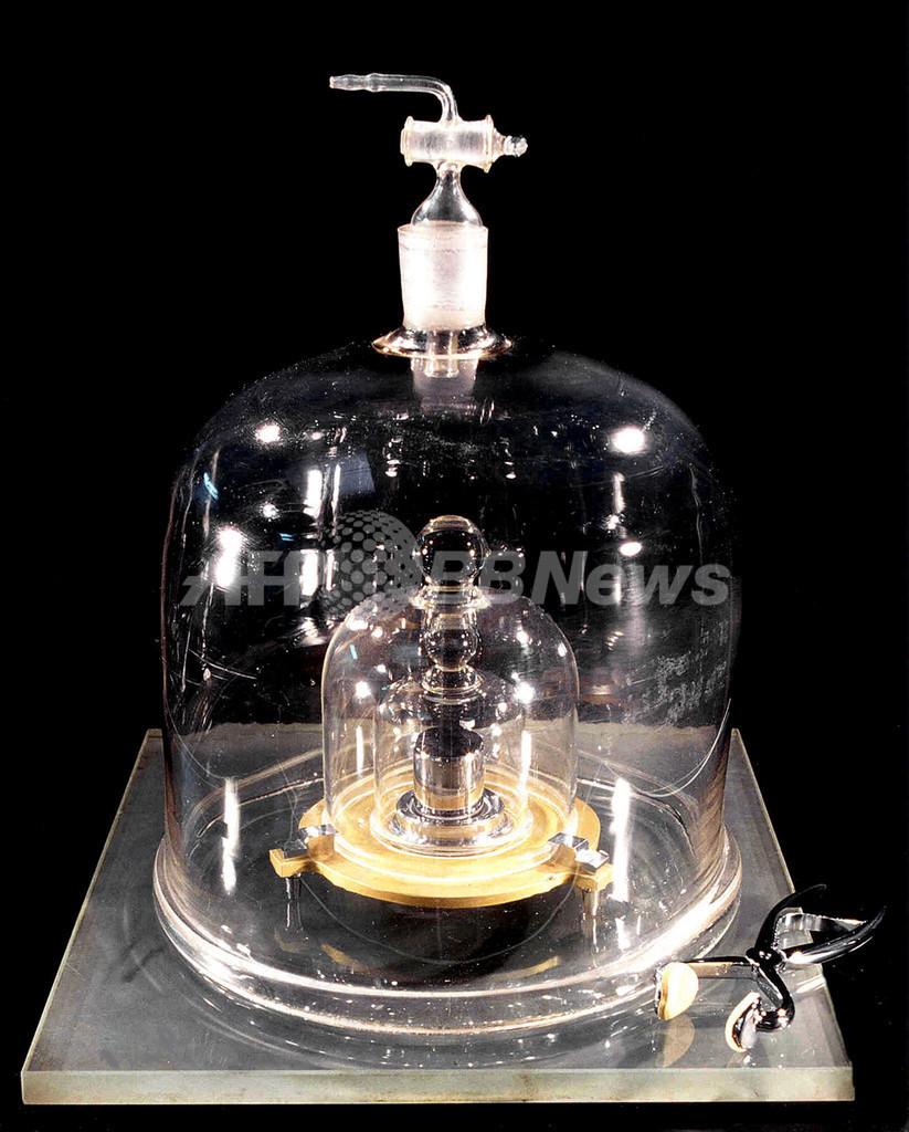 国際キログラム原器、50マイクログラムの減量明らかに