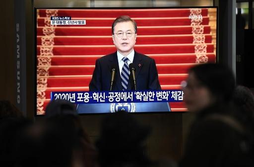 韓国・文大統領、「金委員長が来韓できるほどの関係改善を」