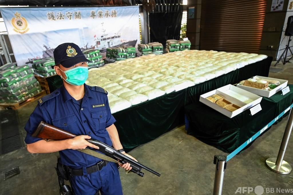 香港で覚せい剤500キロ押収 過去最多、コロナで密輸手段に変化
