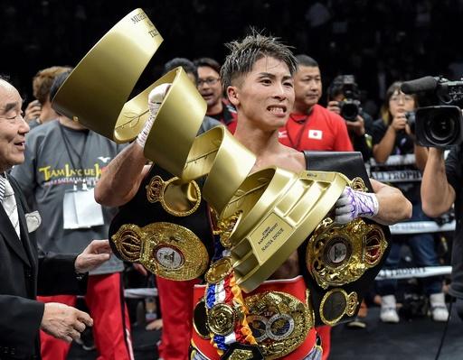 井上尚弥がドネアに判定勝ち、WBSSバンタム級を制覇