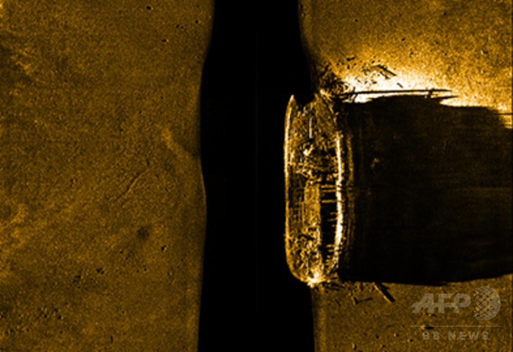 1846年に行方不明の英北極探検船、カナダ調査団が発見