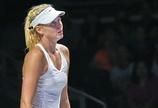 シャラポワが2連敗、世界女王の座遠のく WTAツアー選手権